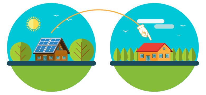 Quali sono le pratiche di buon vicinato con energia P2P