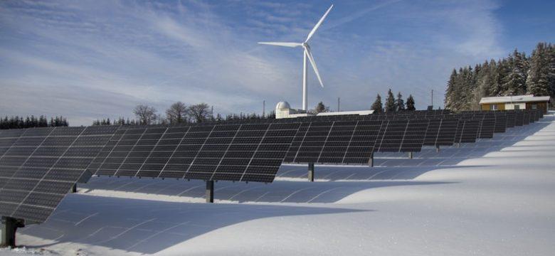 produzione fotovoltaica in inverno