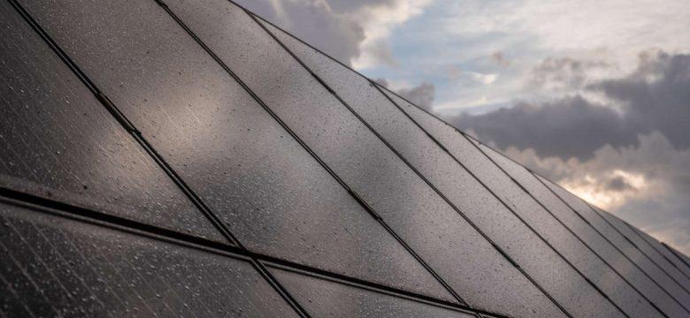 impianto fotovoltaico in inverno